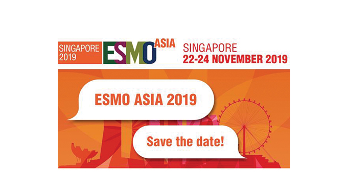 7 weeks to go to ESMO Asia 2019