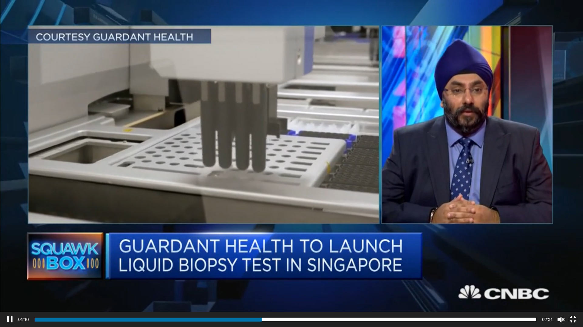 Asia has 'Tremendous Growth' opportunities: Guardant Health AMEA