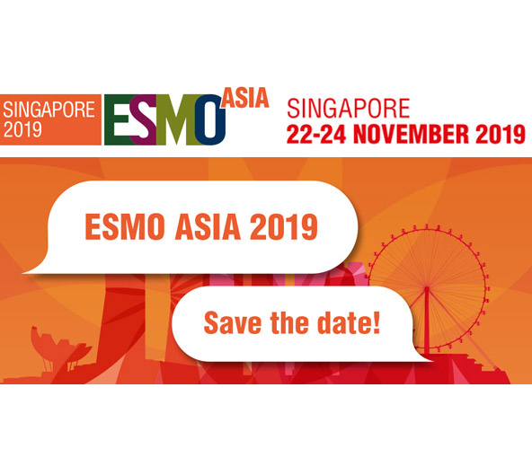 Visit us today at ESMO Asia Booth E08