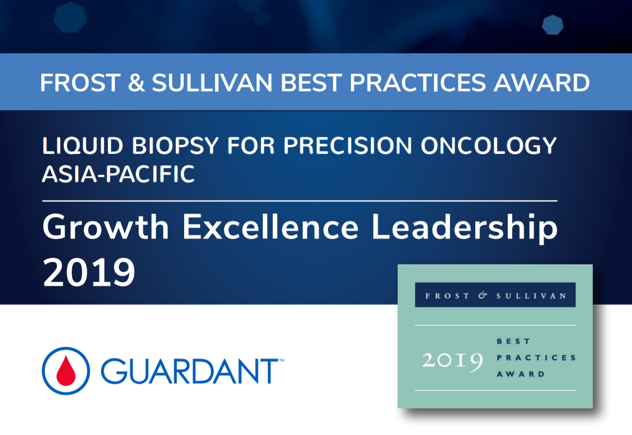 Guardant Health AMEA wins Frost & Sullivan's Growth Excellence Leadership Award