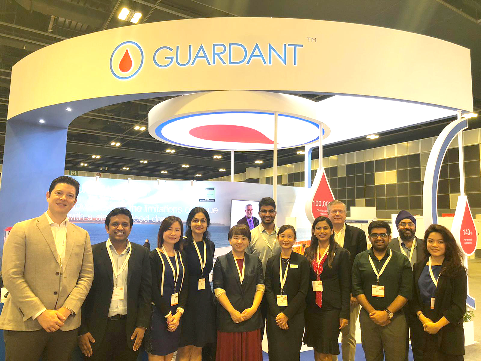 The GH AMEA Team at ESMO Asia 2019 in Suntec City Singapore.