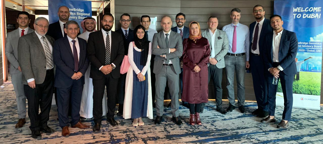 A regional advisory board meeting was recently held in Dubai on 14 February to discuss liquid biopsies.