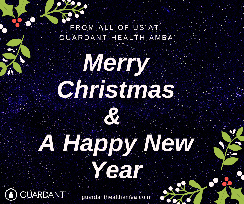 Happy holidays from all of us at guardanthealthamea.com.