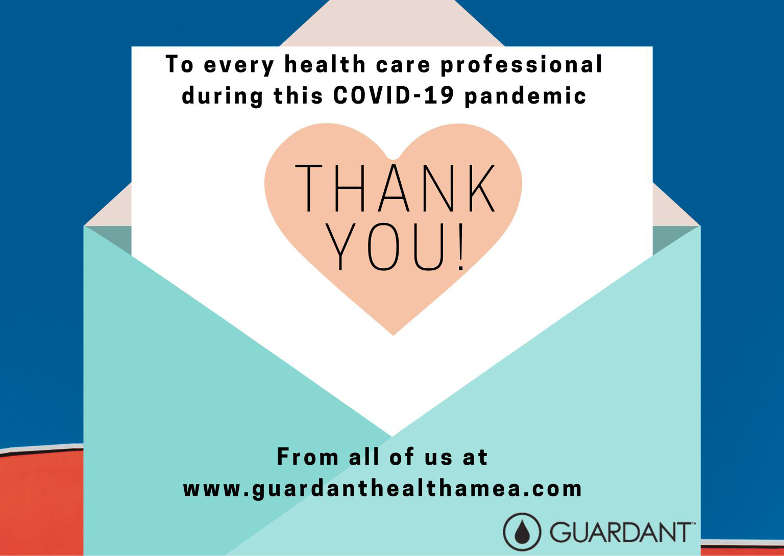 A big heartfelt Thank You to all health care professionals during this COVID-19 pandemic