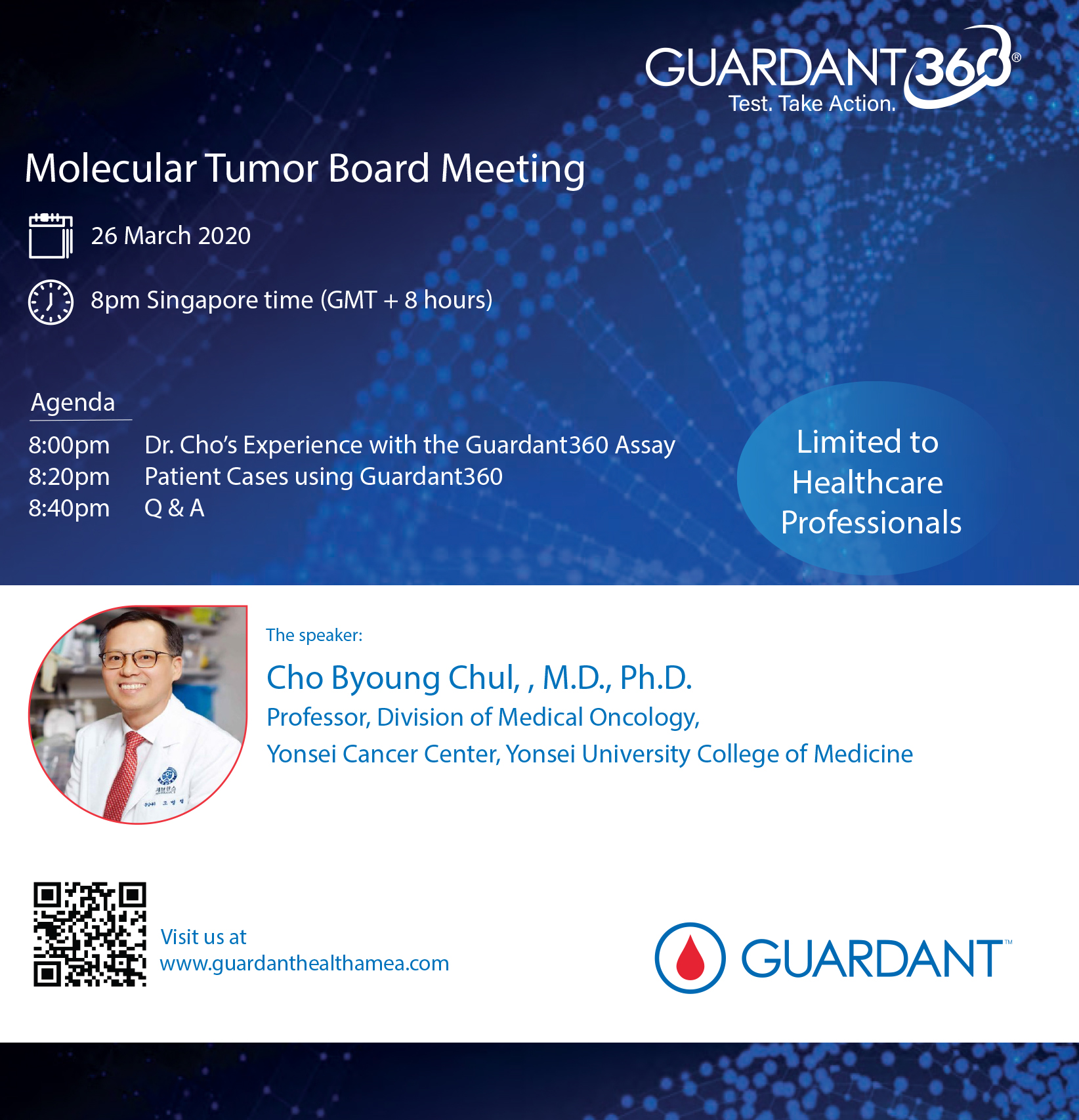 Looking forward to the live webinar discussion tonight led by Dr Cho Byoung Chul
