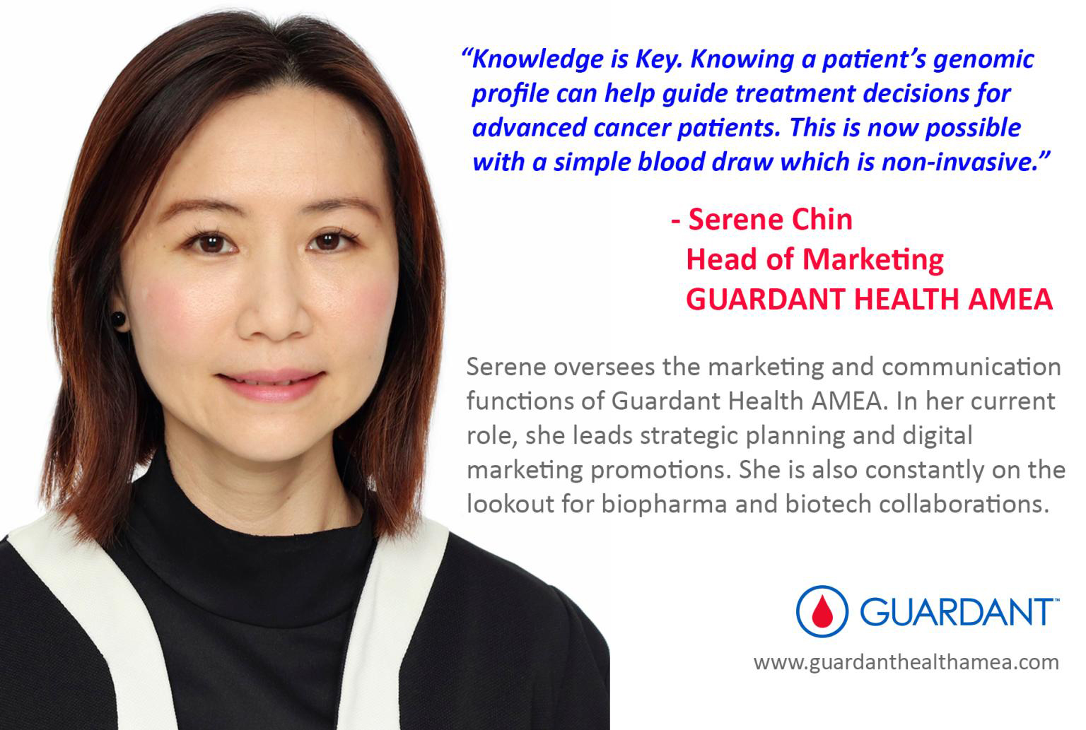 Are you ready to make a difference in the lives of cancer patients in Asia, Middle East and Africa?