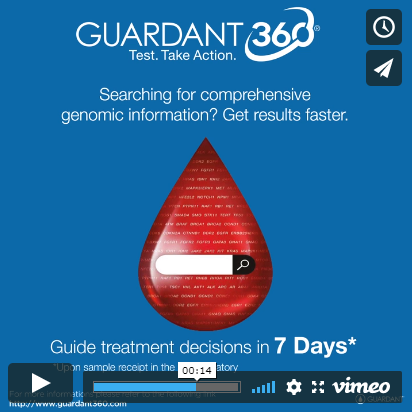 Guide treatment decisions with Guardant360® test results
