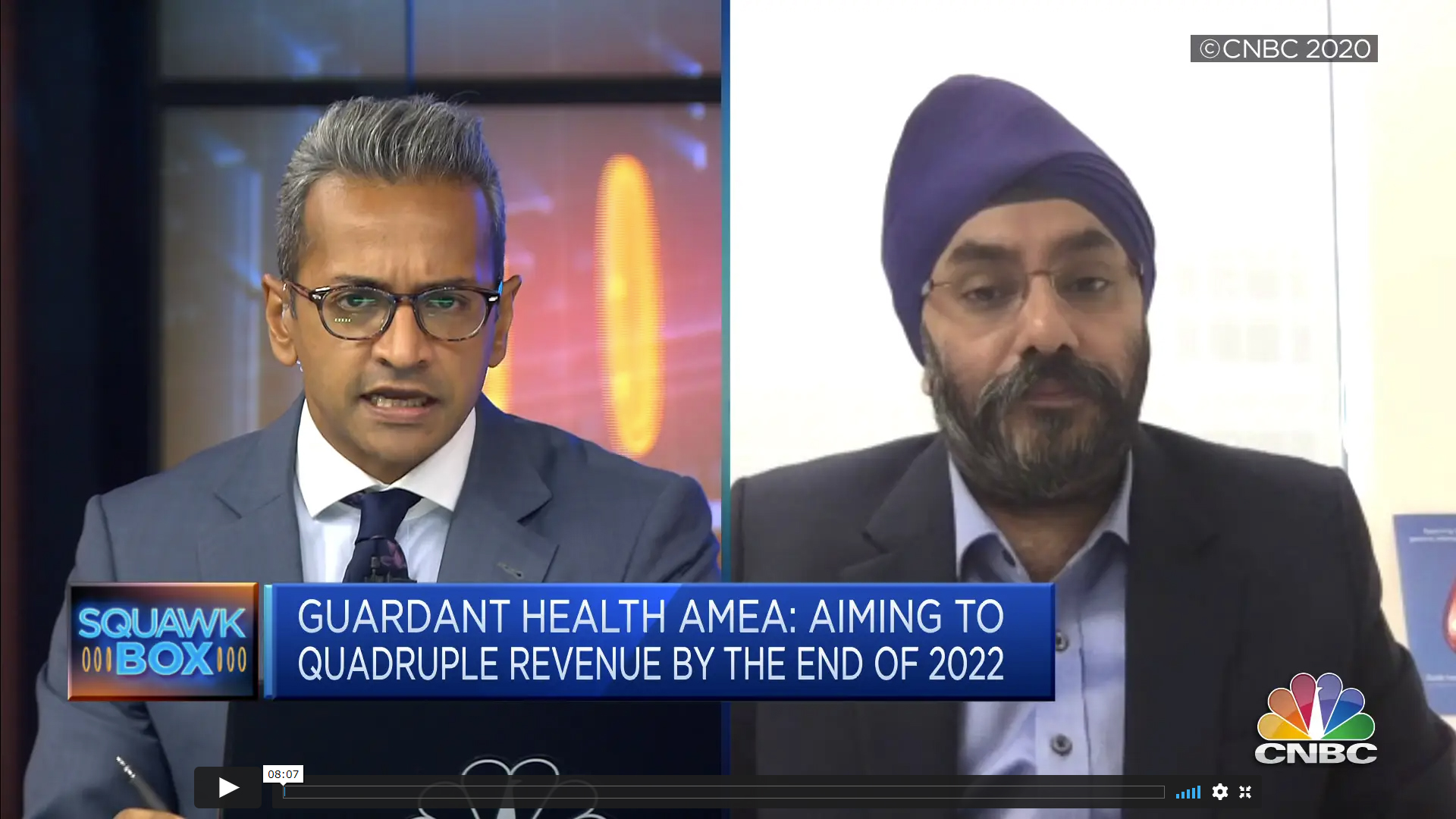 CEO GH AMEA, Simranjit Singh's live interview on CNBC Squawk Box Asia