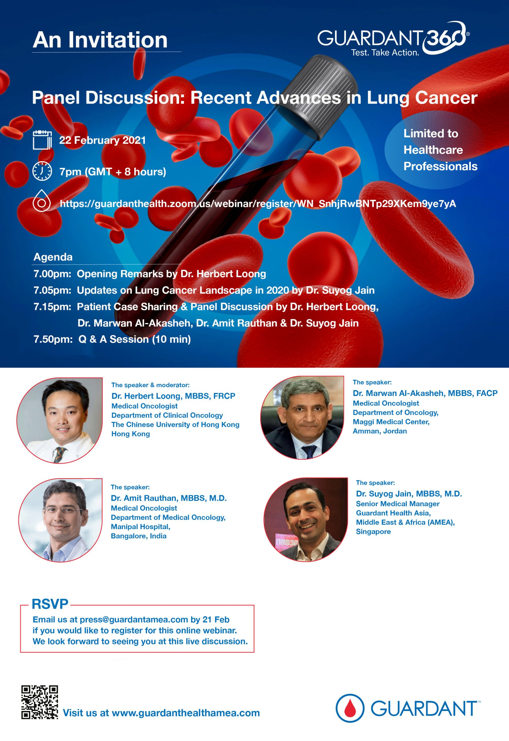 Panel Discussion: Recent Advances in Lung Cancer (Webinar)