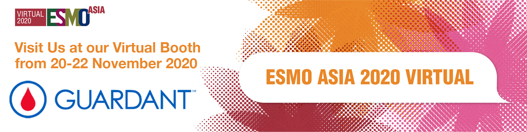 8 Days to go to ESMO Asia Virtual Congress 2020 taking place from 20th to 22th Nov