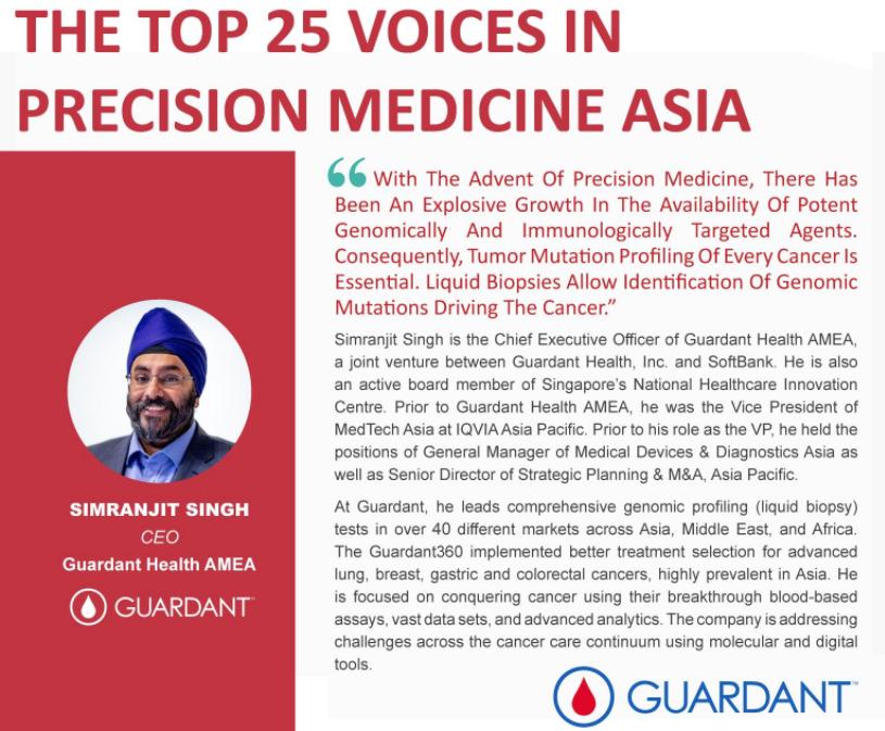 The Top 25 Voices in Precision Medicine Asia