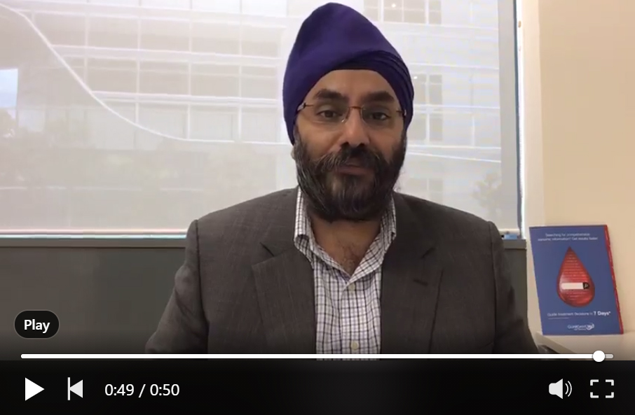 CEO GH AMEA talks about the use of Guardant360®in clinical trials& Project EISE