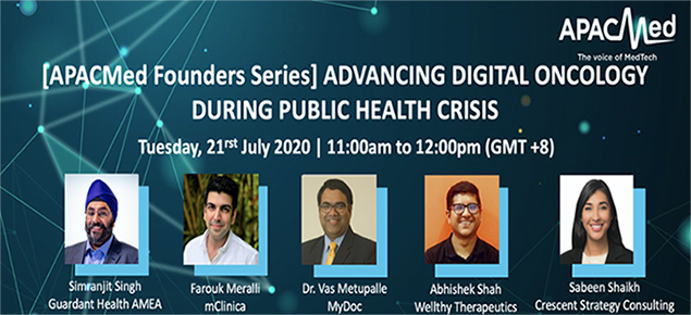 APACMed Founder Series: Advancing Digital Oncology During Public Health Crisis