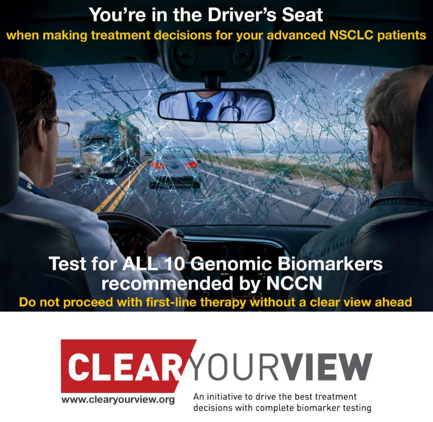 Clear Your View – An Initiative to ensure all NSCLC patients receive complete biomarker testing before first-line treatment