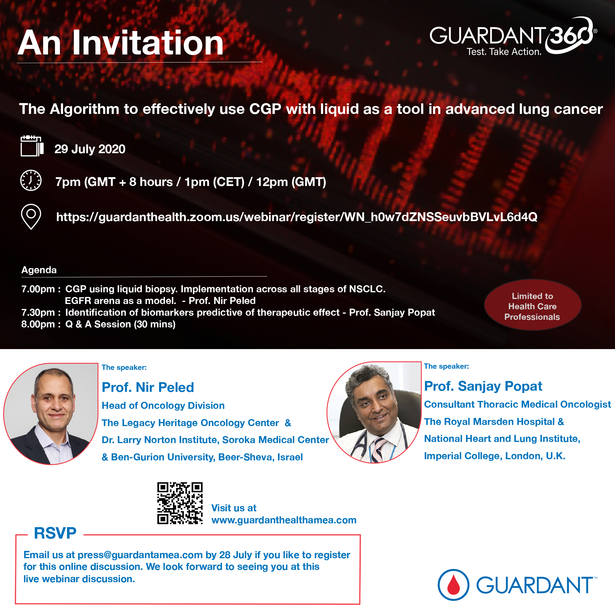 The Algorithm to effectively use CGP with liquid as a tool in advanced lung cancer (Webinar)