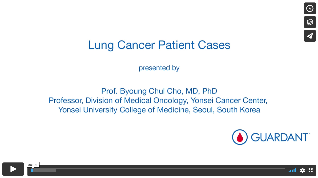 Lung Cancer Patient Cases – where the Guardant360® test was used