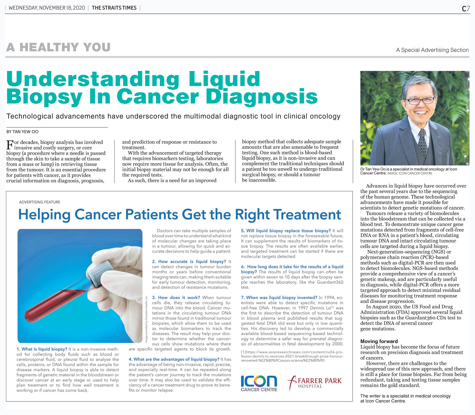 Understanding Liquid Biopsy in Cancer Diagnosis