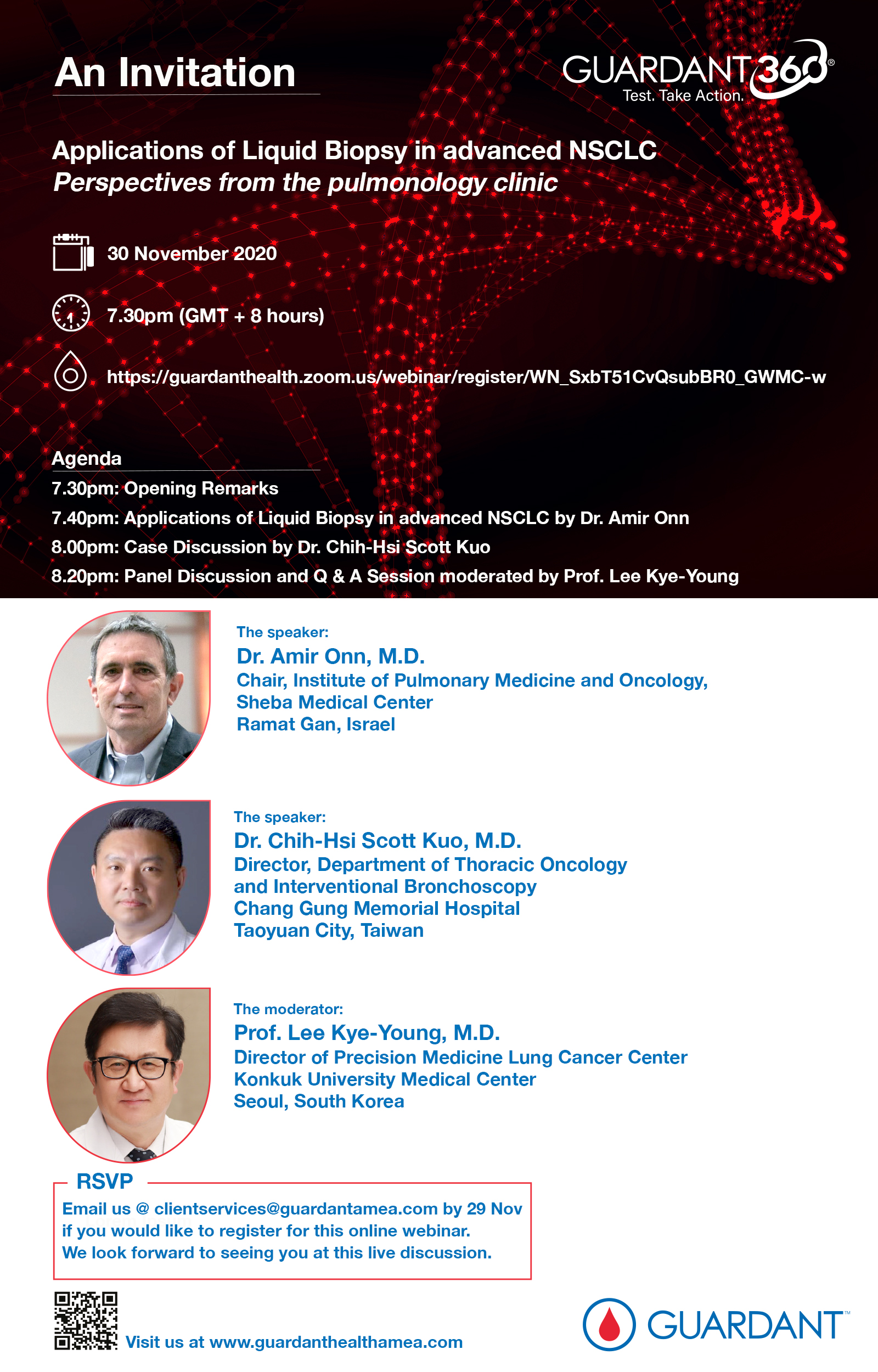 Applications of Liquid Biopsy in advanced NSCLC: Perspectives from the pulmonology clinic (Webinar)