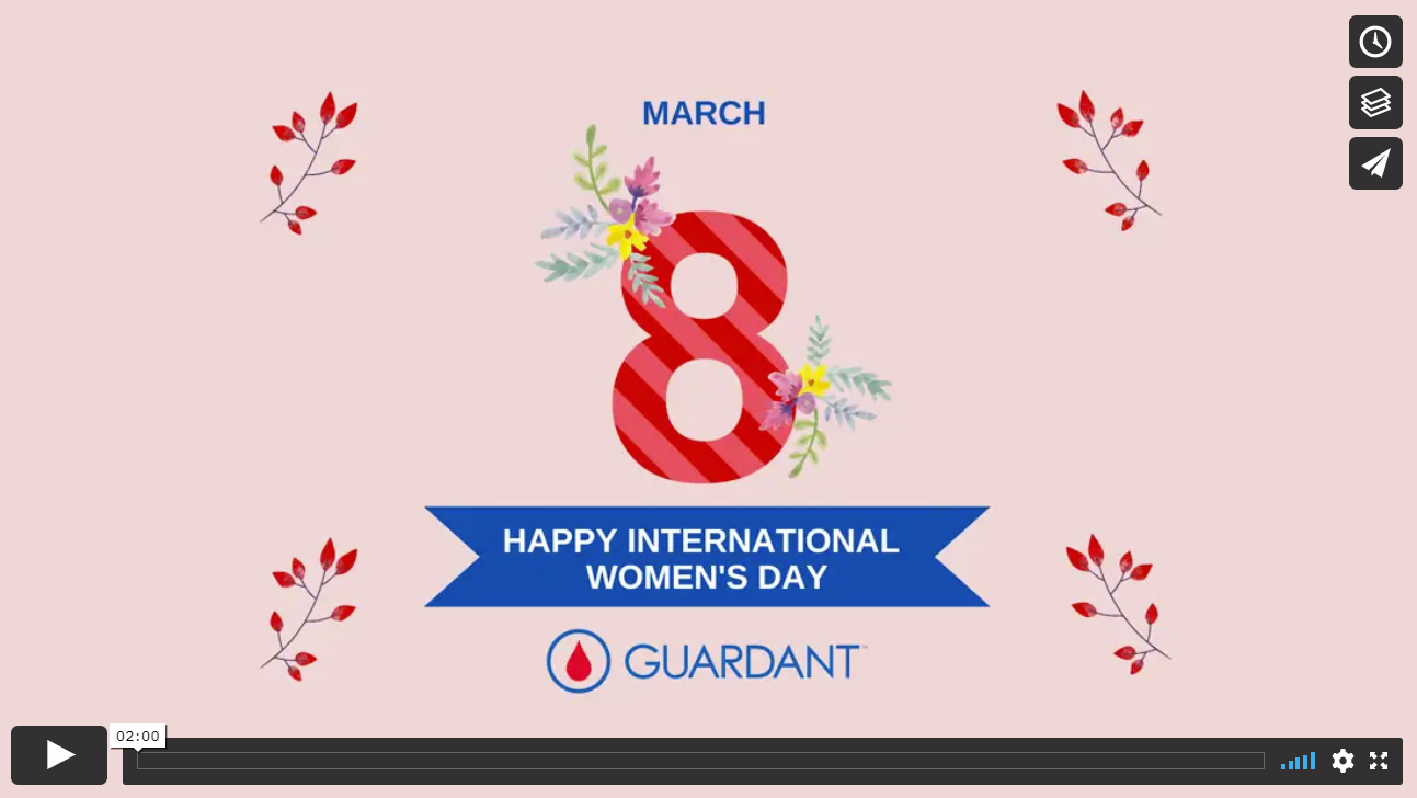 Happy International Women's Day from Guardant Health AMEA